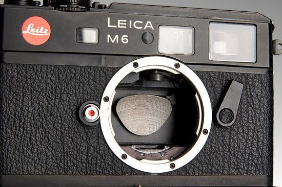 LEICA M6 with an electronic shutter, 1981 prototype