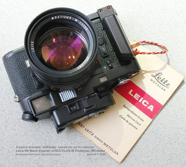 Leica M-Series Rangefinder (RF) Camera Models M1~M8 - index page