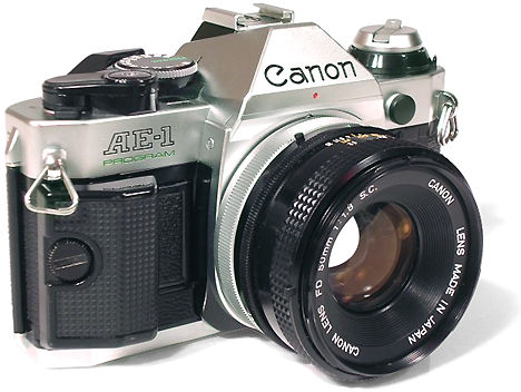 The Canon Ae 1 Program Index Page