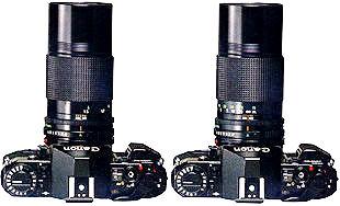Canon FD 200mm Macro Lens