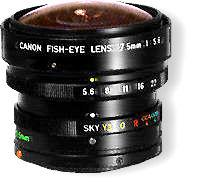 Canon Fisheye Fd 7 5mm F5 6