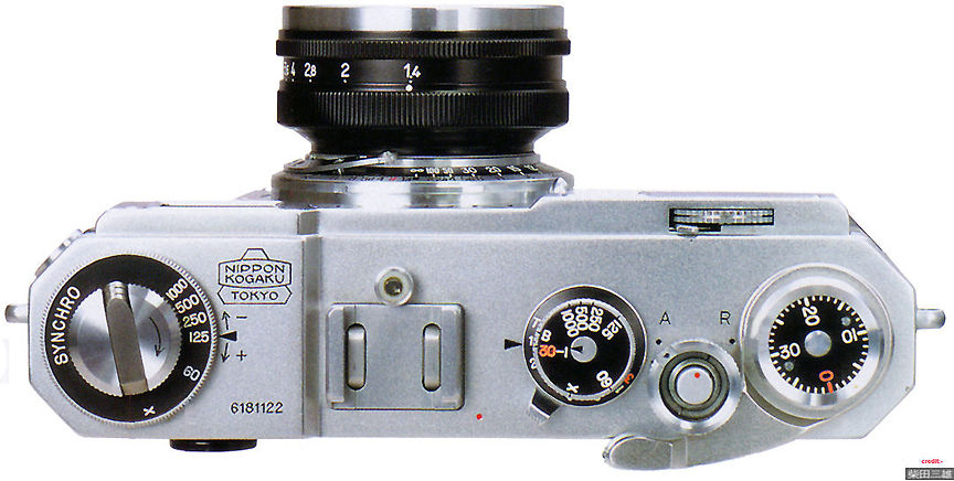 Nikon rangefinder camera models S2-S4