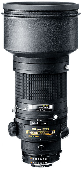 Early version of Autofocus Nikkor Lenses - index page