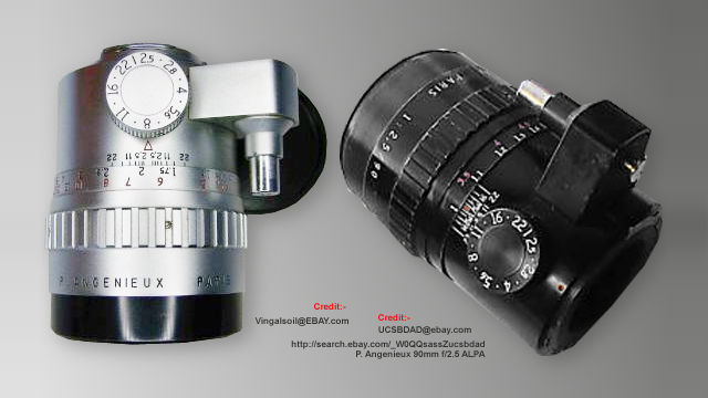 French P.Angenieux 90mm f/2.5 for ALPA