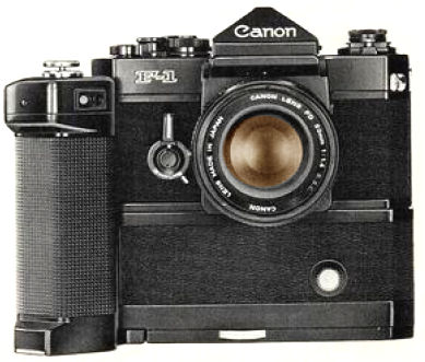 Canon F1 Motor Drive Unit