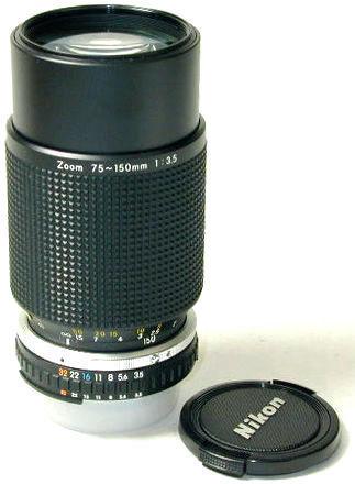 Nikon Series E zoom 70-150mm f/3.5