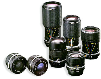 Nikon Series E lenses