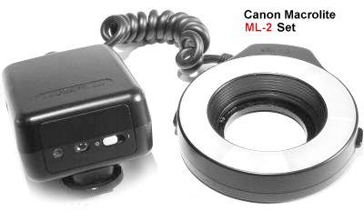 Canon Ml  Macro Ring Lite Ebay