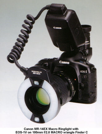 Canon MR-14EX Macro Ring Lite flash unit Setup