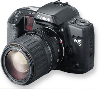 Canon eos 10qd gray (international version of 10s with date) 35mm.