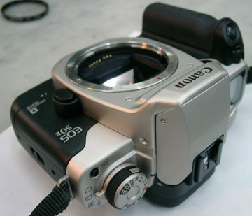 Nice Set- Canon EOS 5 A2 Professional 35mm SLR Camera cw Grip