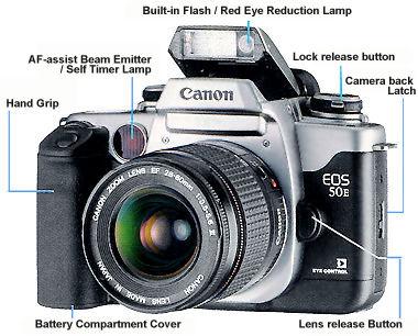 main reference map for canon eos 50 50e eos elan ii iie eos 55 rh mir com my Canon Elan 7N Craigslist canon elan 7e instruction manual