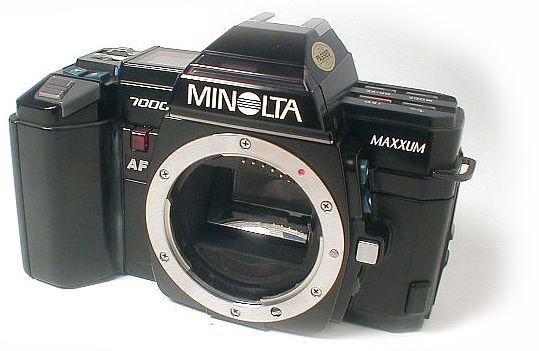Minolta 7000 Pictures Minolta Maxxum 7000 af Slr