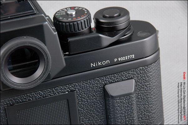 Nikon F3P - Index page
