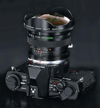 Perspective Control (PC) Lense - Zuiko Shift 24mm f/3 5