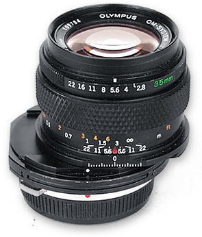 Perspective Control (PC) Lense - Zuiko Shift 35mm f/2 8