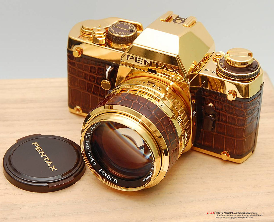 Pentax LXGold Arsenal EveryThing Made of Gold image gallery