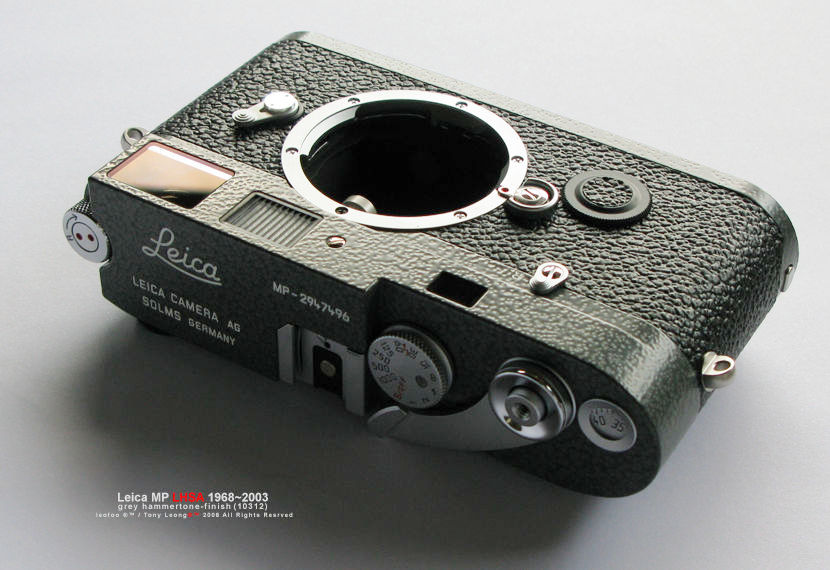 Leica Mp Lhsa 19682003 Special Edition In Grey Hammertone Finish