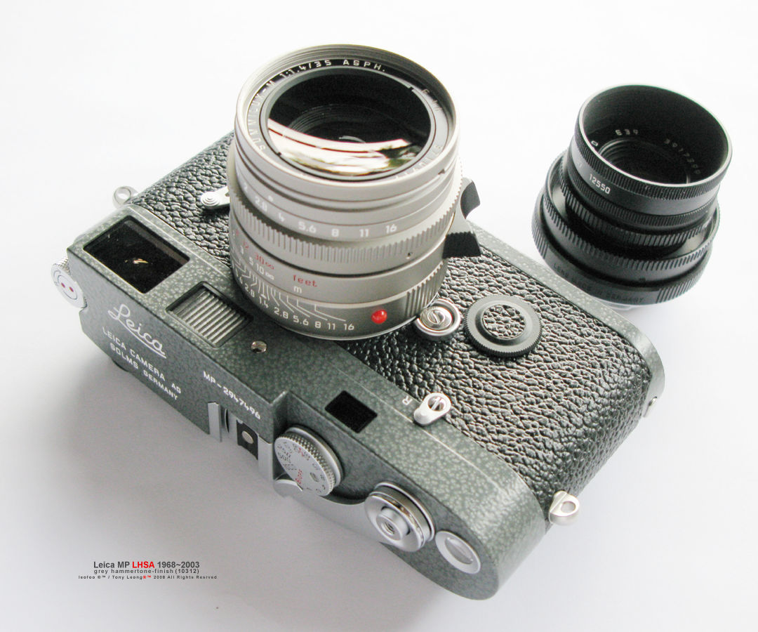 P O Profile On Leica Mp Lhsa 19682003 Special Edition Rangefinder Camera Model W