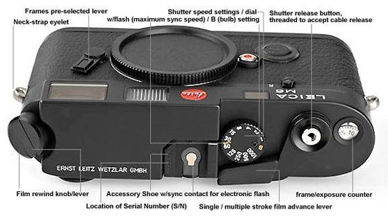 nomenclature main reference map for leica m6 rangefinder cameras rh mir com my leica m6 instruction manual leica m6 instruction manual