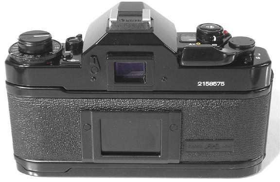 Canon A1 Rear view