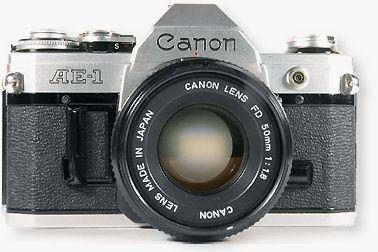 Modern Classic SLR Series - Canon AE-1