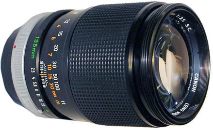 Canon BT-55 Camera Lens Hood FD 85mm f/1.8 S.S.C / 135mm f/3.5 100mm f/2.8
