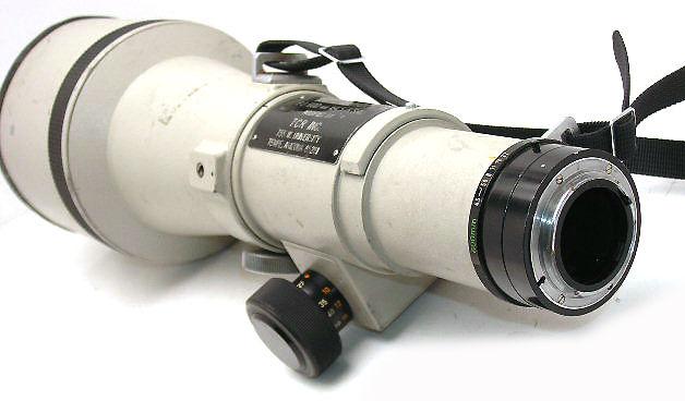 Canon Lens Fd 400mm 600mm Super Telephoto Lenses