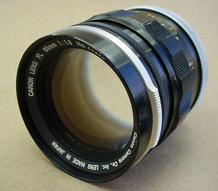 Canon FL lenses - Index Page
