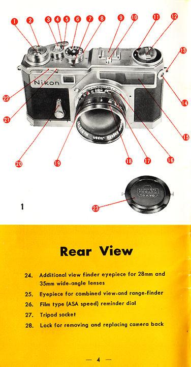 nikon sp rangefinder camera instruction manual page 1 6 rh mir com my Nikon ProStaff Rangefinder Nikon Aculon Rangefinder