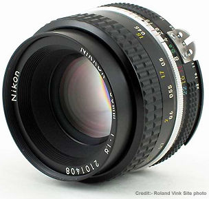 Nikkor 50mm f/1 4 and 50mm f/1 8 Standard Lenses - Version History