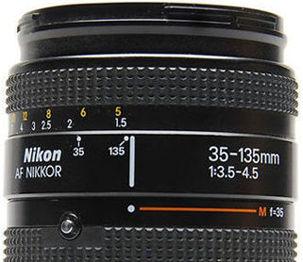 nikon af autofocus zoom nikkor 35 135mm f 3 5 4 5 ai s zoom lens