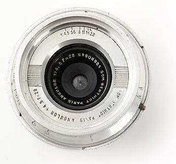 Contax Carl Zeiss JENA 1:8 f=2 8cm (28mm f/8 0) Tessar wideangle