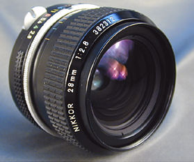 Nikkor 28mm f/2 8 Wideangle Lenses - Pre AI Era