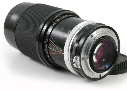 Nikkor MF Zoom lenses Series - Main Index Page