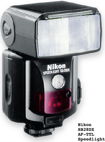 Ttl flash photography with nikon f5