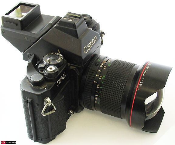 Canon New F 1 Viewfinder Optical Construction