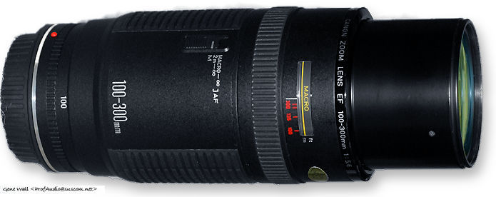 Canon Ef Zoom Lens 100 300mm F 5 6l Index Page