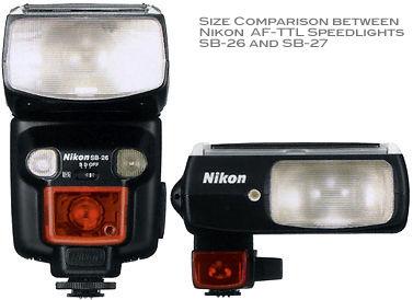nikon autofocus flash model sb 27 ttl speedlight rh mir com my Compatibility Nikon SB 26 Nikon D90