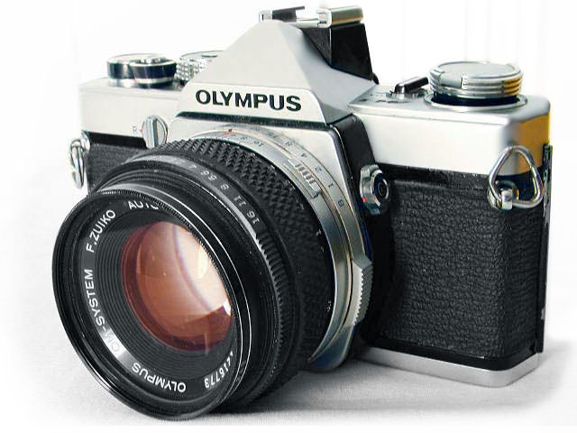 Olympus Origina M-1 SLR camera by Larry Shapiro